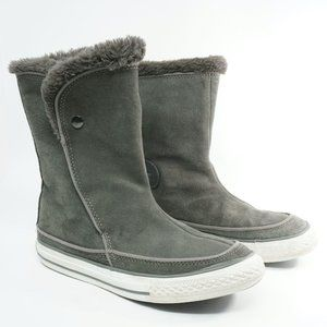 Converse Womens Beverly Sneaker Boots 6